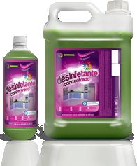 Desinfetante concentrado 5L até 1:20 - Folhas do cerrado.