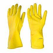 Luva Latex amarela - Tam. M.
