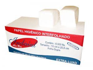 Papel higiênico  Folha Dupla cai cai - Cx c/ 8.000 folhas.