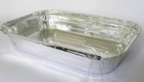 Bandeja de aluminio 1500ml com 100 unidades