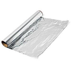 Papel aluminio 30cm x 4m