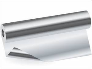 Papel aluminio  30cm x 100m
