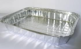 Bandeja de aluminio 240ml com 200