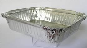 Bandeja de alumínio 1150ml com 100 unidades
